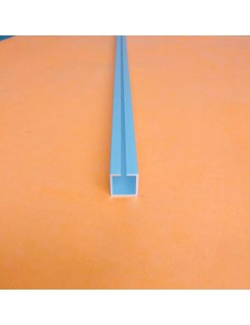 Hliníkový profil HJ20 s drážkou