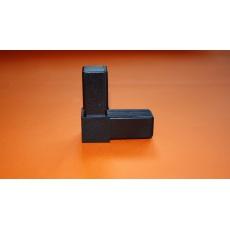 Plastové spojky pre profil 30x30, čierne