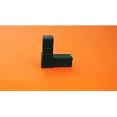 Plastové spojky pre profil 20x20, zelené