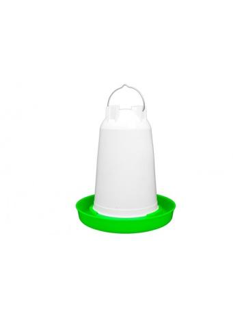 Napájačka pre hydinu 6L (červená / biela)