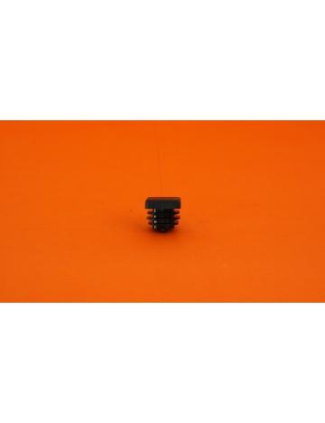 Zátka čierna pre profily, 15x15x5mm