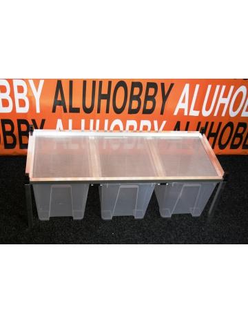 Rack Aluhobby K4 - strop sito (poschodie, vrátane debien)