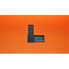 Plastové spojky pre profil 20x20, čierne