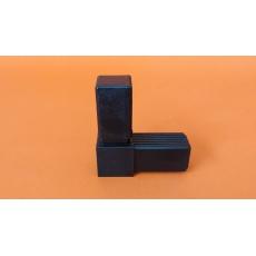 Plastové spojky pre profil 30x30, kovové jadro