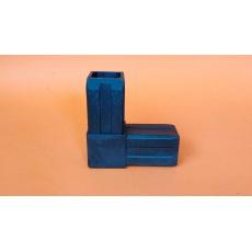 Plastové spojky pre profil 40x40HČ, čierne