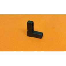 Plastové spojky pre profil 15x15, čierne