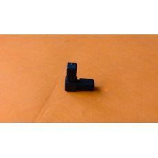 Plastové spojky pre profil 13 x13, čierne