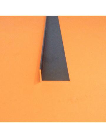 Hliníkový profil L (HL42 čierný elox.)