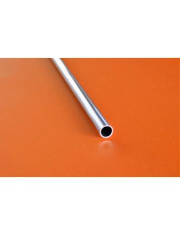 Hliníkový profil guľatý, dutá tyč (HT14)