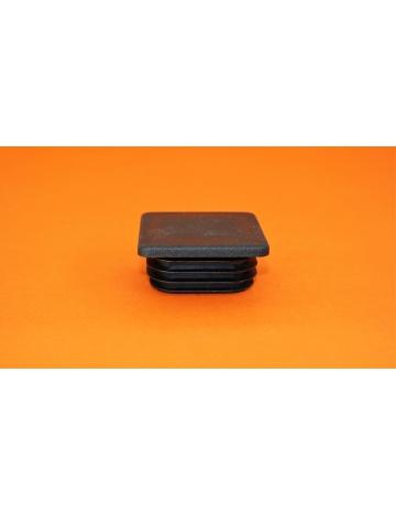 Zátka čierna pre profily, 40X40X5mm