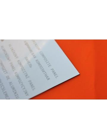 Sendvičová doska, strieborná, 3mm (100 x 150cm)