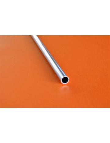 Hliníkový profil guľatý, dutá tyč (HT8)