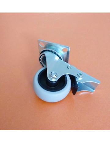 Koliesko priemyselné s brzdou, priemer 50mm